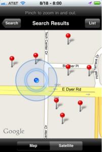 Ticor Pocket Profile App Screenshot