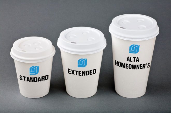 Standard, Extended, and ALTA Homeowner's Title Insurance Comparison