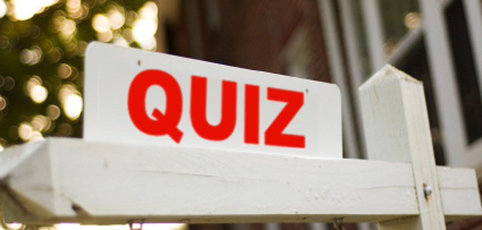 Mortgage Fraud Quiz