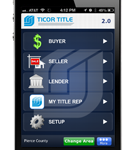 Ticor Agent 2.0 Real Estate App