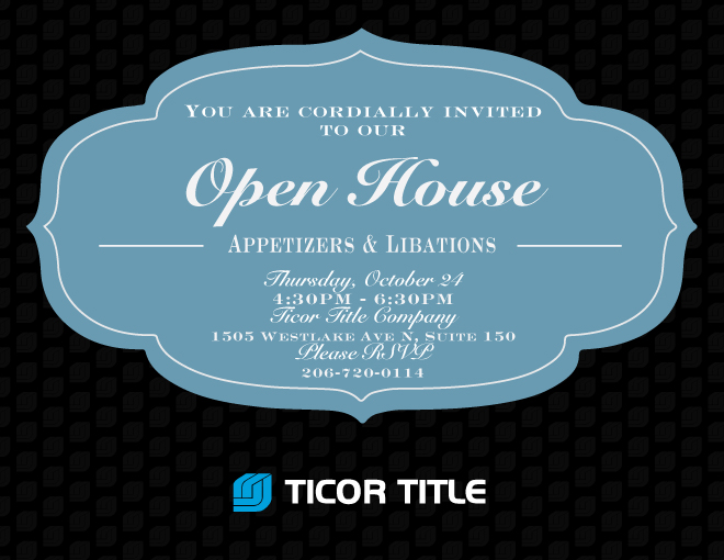 Ticor Title Seattle Open House