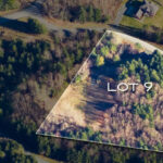 Vacant Lot Aerial Photo