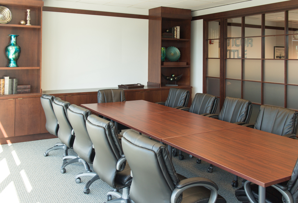 Conference Room at Ticor in Everett