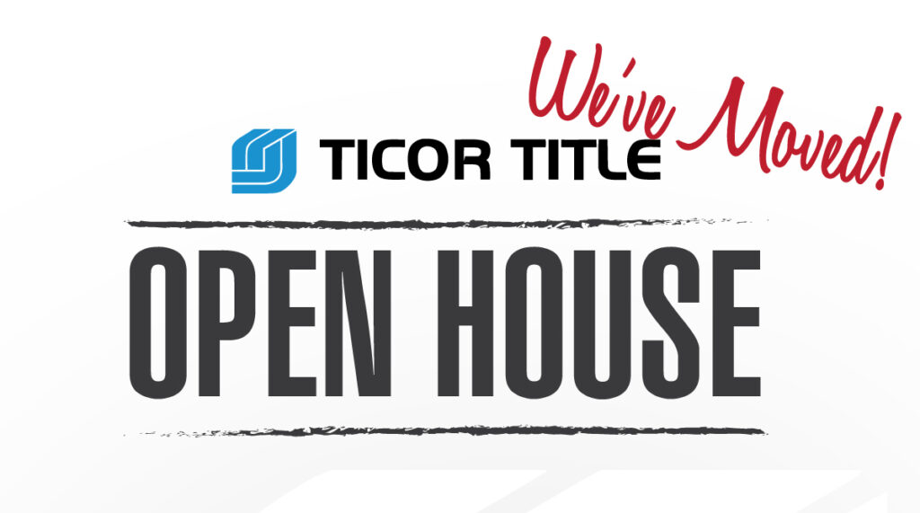 Ticor Title - Kent, WA Open House
