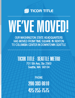 Ticor Title relocates Washtington State Headquarters to the Columbia Tower in Seattle