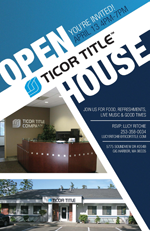 Ticor Title Open House 2016 Gig Harbor