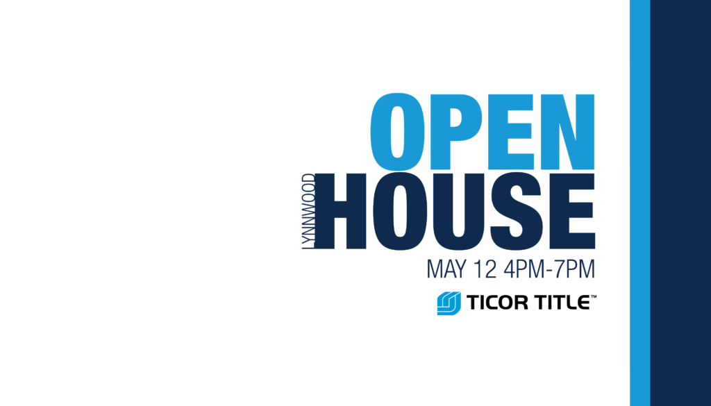 Ticor Title Lynnwood Open House May 12, 2016