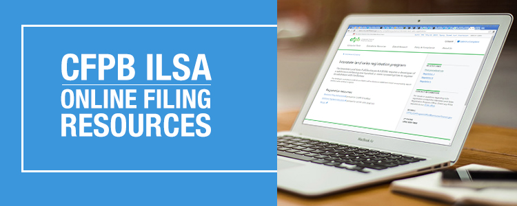 CFPB ILSA Online Filing Resources