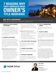 7 reasons for title insurance