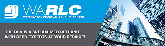 The Regional Lending Center is a specialized refi unit with CFPB experts at your service!