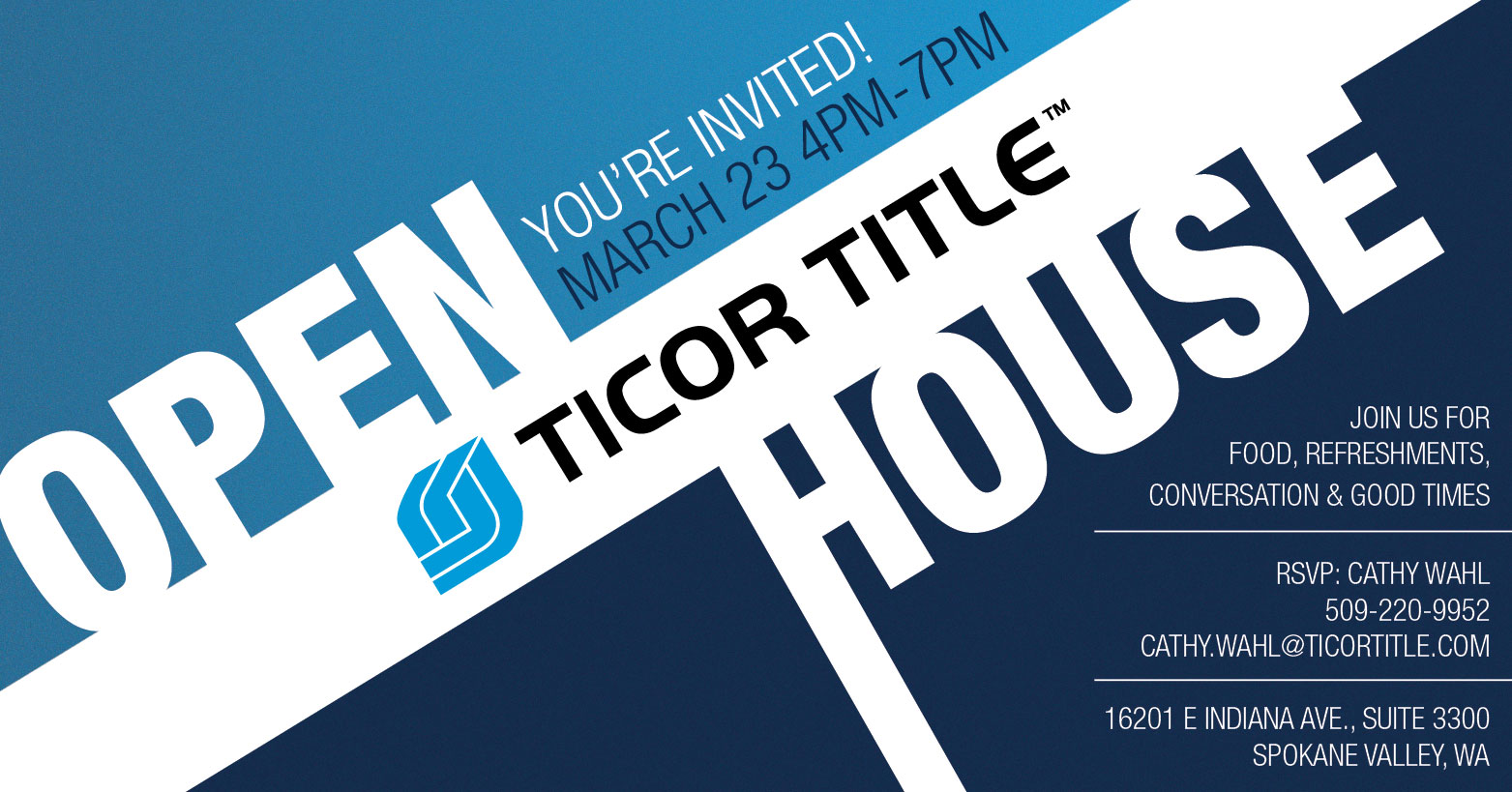 Ticor Title Spokane Valley Open House