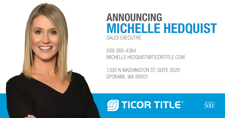 Michelle Hedquist Ticor Title Spokane