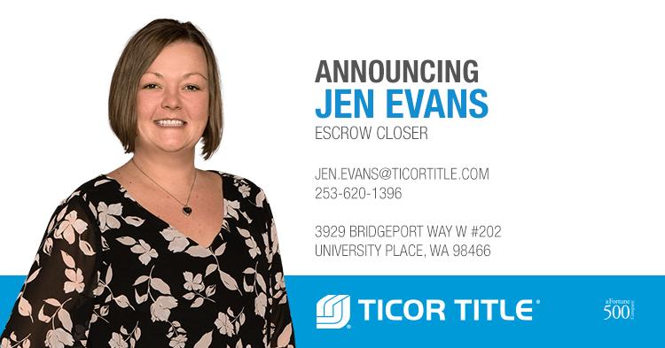 Jen Evans Escrow Closer