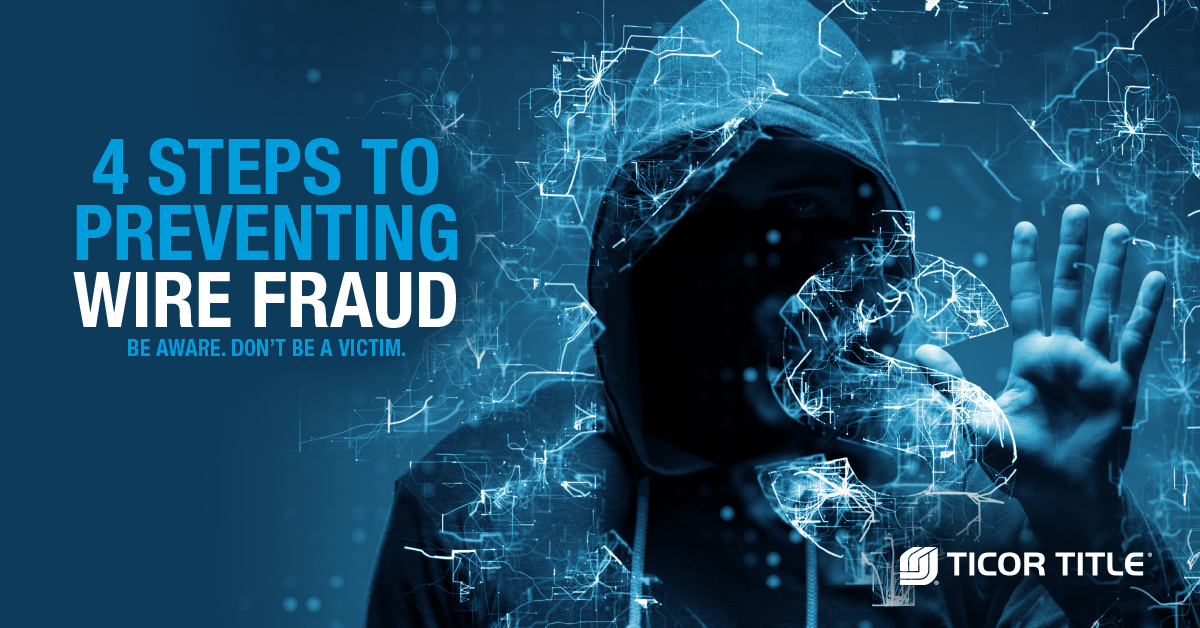 four steps to prevent wire fraud