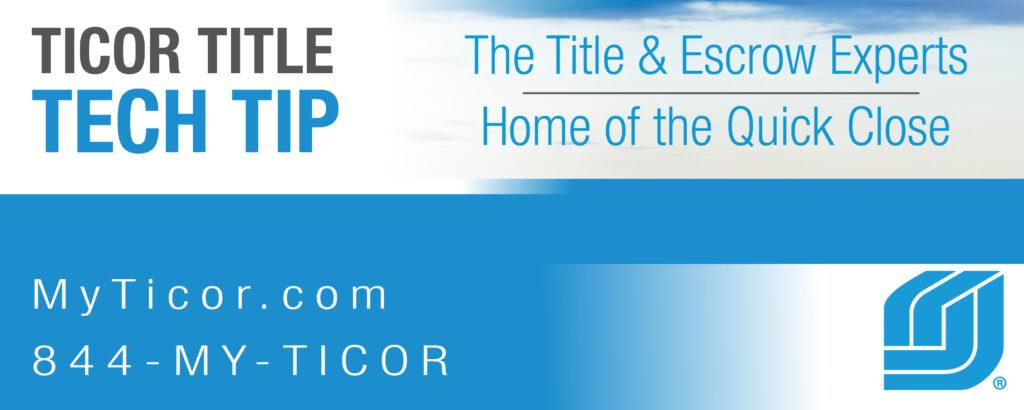 Super Blog Ticor Title Home Interior And Landscaping Eliaenasavecom